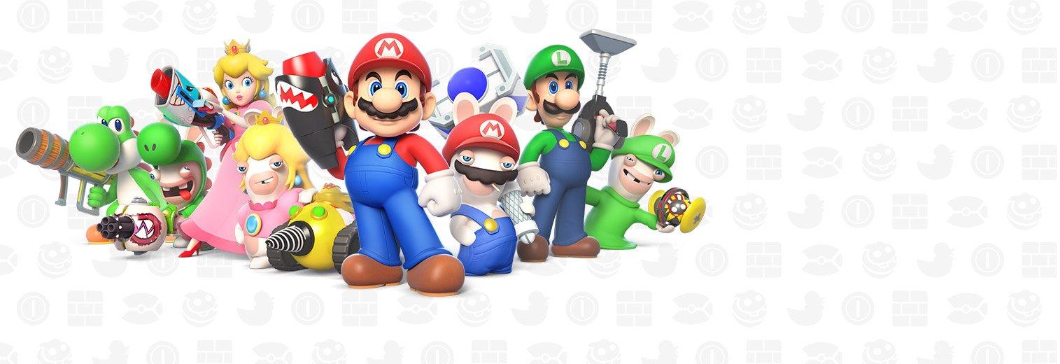 Image result for Mario + Rabbids Kingdom Battle - Nintendo Switch Standard Edition