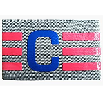 Forfar 1 Pc Football Captain Armband Suitable For Multiple Sports Including Football & Rugby by Forfar