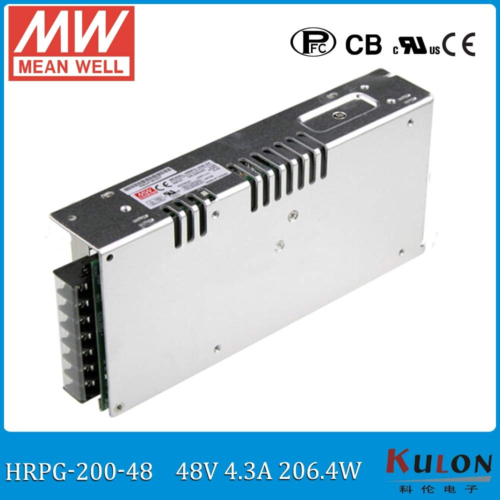 Utini Original HRPG-200-48 200W 4A 48V Low Power Consumption Power Supply 48V Power Unit with PFC Function