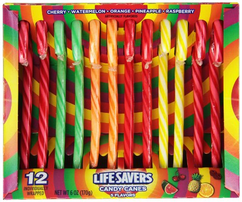 Life Savers Candy Canes - 12 ct (Net Wt. 6 oz.)