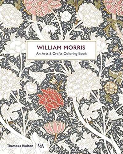 William Morris: An Arts and Crafts Colouring Book (Victoria and Albert Museum)