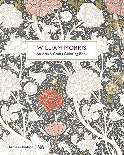William Morris: An Arts & Crafts Coloring Book (Victoria and Albert Museum)