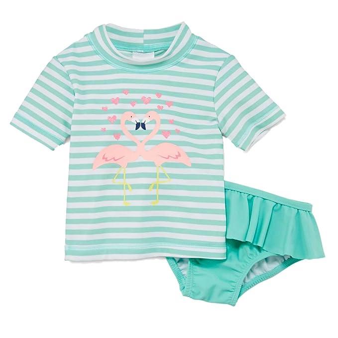 Amazon.com: Carters infantil niñas traje de menta Flamingo ...