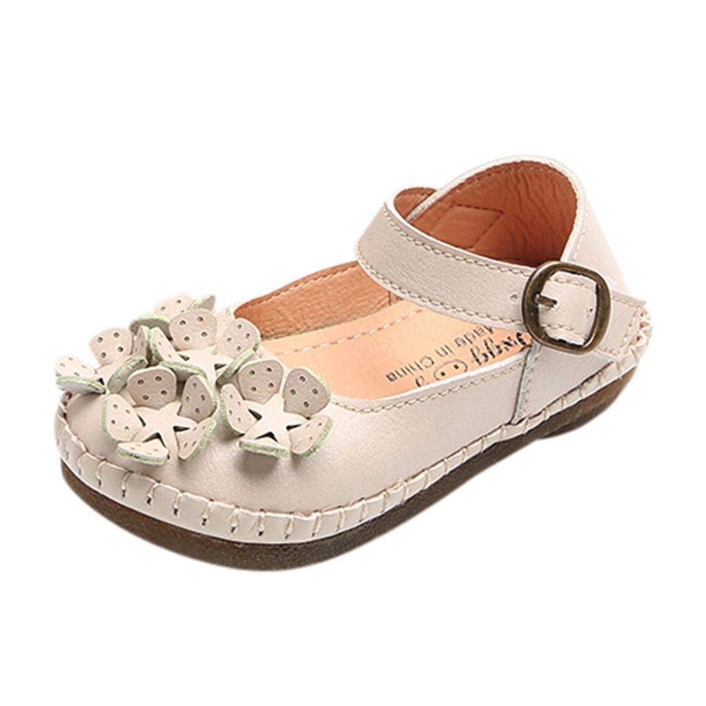 f210633f0 Ouneed® EU20-24 Bebe Fille Ballerine Fleur ETE Ceremonie Chaussures ...