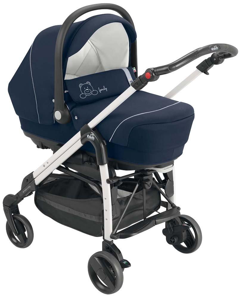Cam el mundo del niño Art.845020/663 sistema modular Combi Family, Azul con bordado: Amazon.es: Bebé