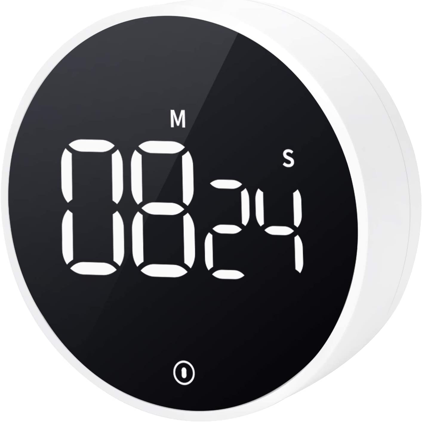 VOCOO Digital Kitchen Timer: Magnetic Countdown/Count Up Timer with Large LED Display Volume Adjustable, Easy to Use for Cooking Kids and Seniors