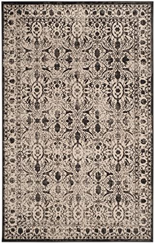 Safavieh Brilliance Collection BRL502C Cream and Black Area Rug 9 x 12
