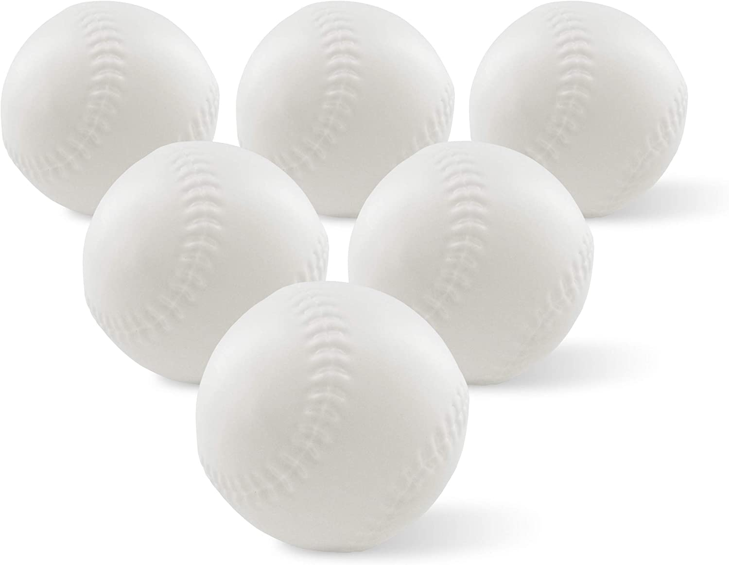 Toddler & Little Kids Replacement Baseball - for Little Tikes TotSports T-Ball Set - 6 Pack