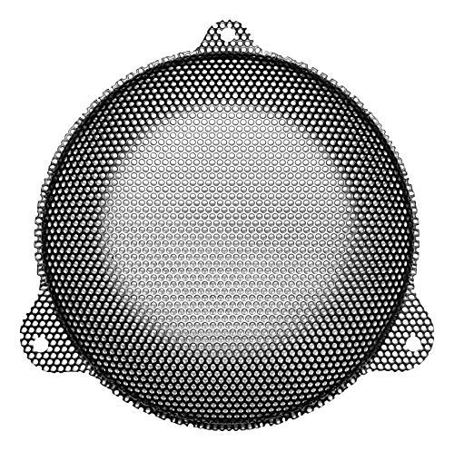 Hawg Wired Rushmore Punched Steel Mesh Speaker Grills - Grills Chrome Speaker