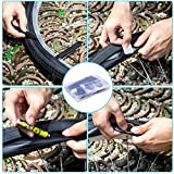 Maifede Bike Inner Tire Patch Repair Kit - with 11