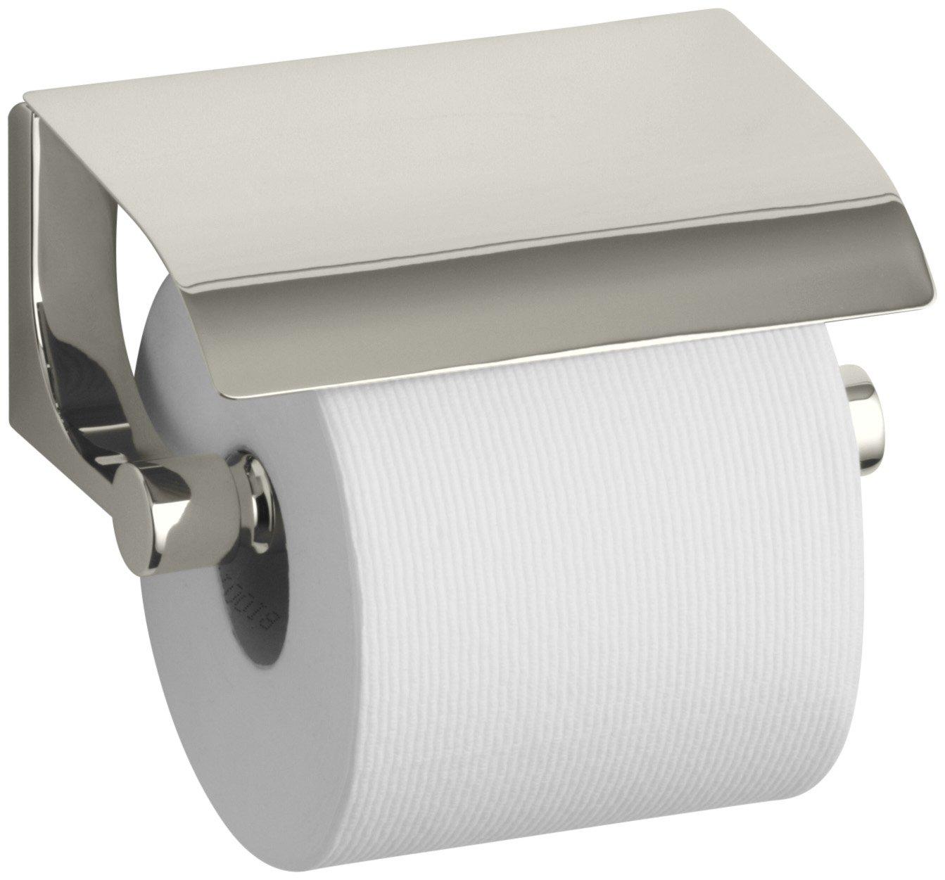 Kohler K11584cp Loure Covered Toilet Tissue Holder, Polished Chrome   Toilet Paper Holders  Amazon