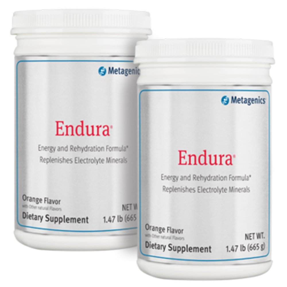 Metagenics Endura Orange Powder 1.47lbs (19 servings) - TwinPak