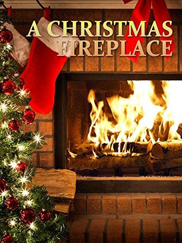 A Christmas Fireplace (Christmas Log Yule)