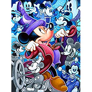 5D Diamond Painting Kits Full Drill Disney Diamond Embroidery 30x40cm,Mickey Mouse Diamond Kit Home Wall Decor 12x16Inch -59
