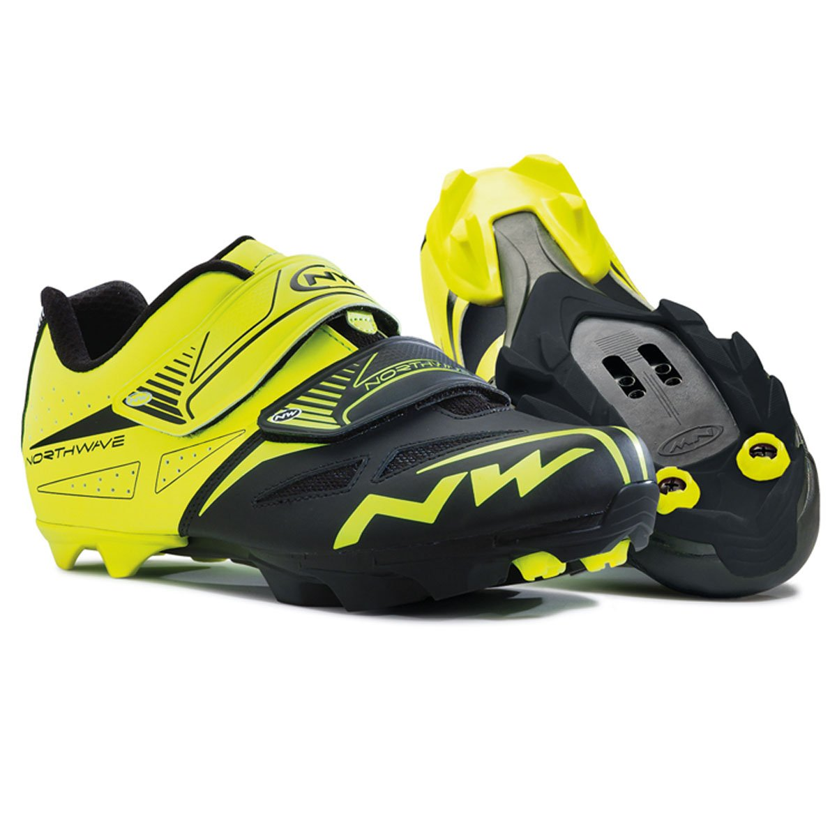 NORTHWAVE(ノースウェーブ) SPIKE EVO YELLOW FLUO/BLACK サイズ:43   B00LMYC6PK