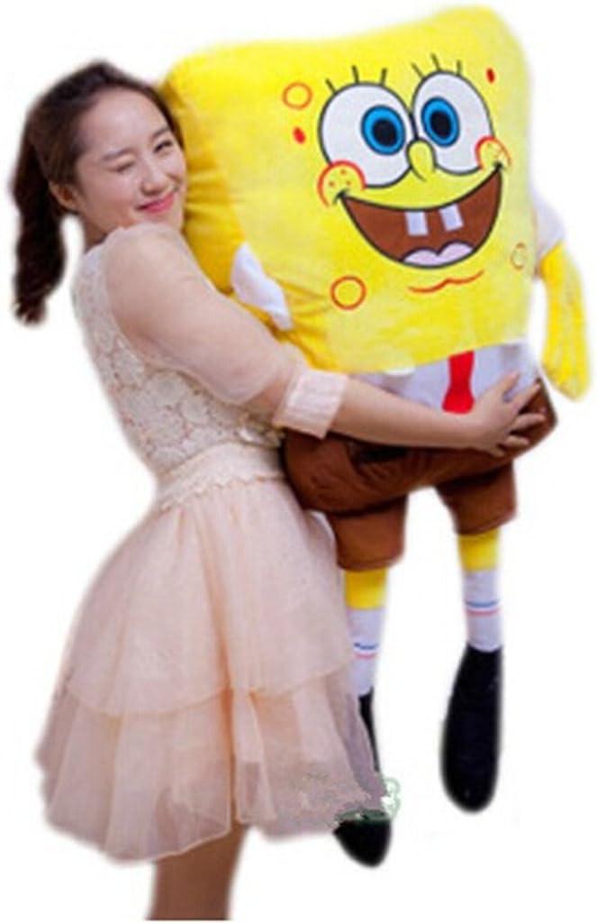 """B00MUQ52ZK Super Soft Fabric 39"""" 1M Squarepants Spongebob Figure Plush Toy Stuffed Cuddle Pillow 61kDrtaqw-L.SL1088_"""