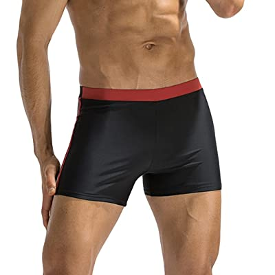 Bluestercool Hommes Maillot de Bain Respirant Pantalon Bikini Slips Shorts pour Running, Natation Sports