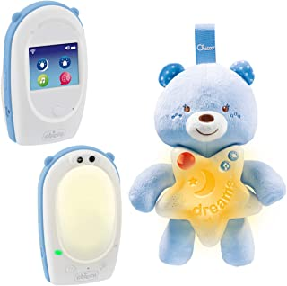 Chicco 00009380200000écoute-bébé Audio Top + luce notturna piccolo orsetto