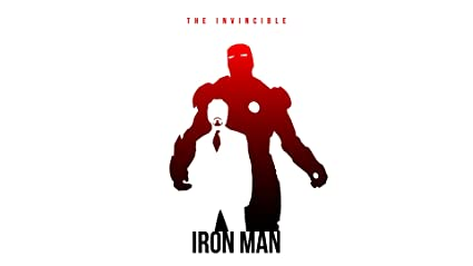 Posterhouzz Comics Iron Man Tony Stark HD Wallpaper Background Fine Art Paper Print Poster