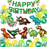Globos de Dinosaurio Set,Dinosaurio Globo Grande,Selva Dinosaurio Globos,Globos de Dinosaurios para Cumpleaños,3D Globos…