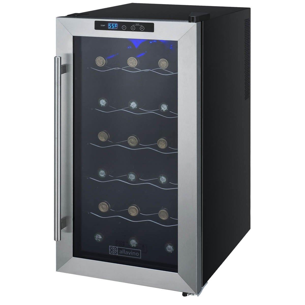 18 Bottle Thermoelectric Wine Refrigerator