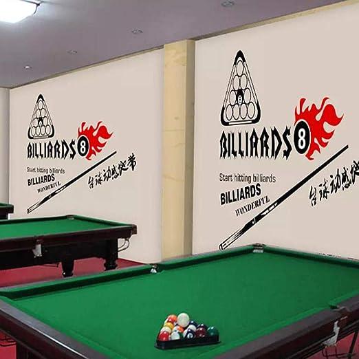 3d pintado a mano en blanco y negro sala de billar sala de billar ...