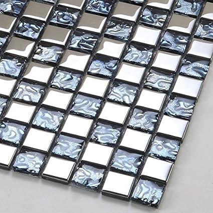 Gowe Piedra Espejo Mosaico Maeseyck Pared Cristal Adhesivo Para - Baldosas-y-azulejos