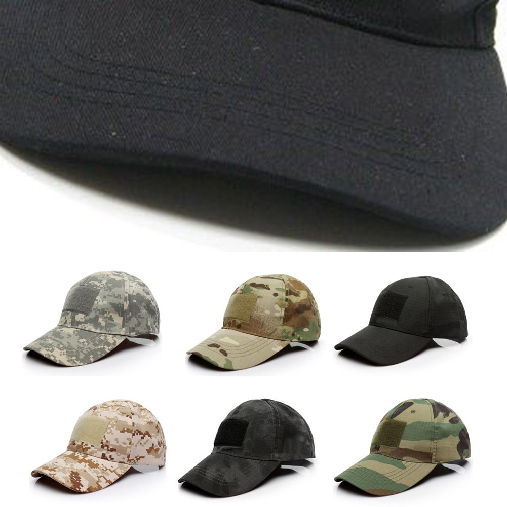 bf4e4e0aa0ab2 Camo Cap Military Special Forces Operator Tactical Army Baseball Hat with  American Flag Patch( 2)  Amazon.co.uk  Clothing