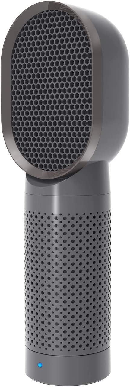 QUEENTY Desktop Air Cleaner with True HEPA Filter - Portable Air Purifier Odor Allergies
