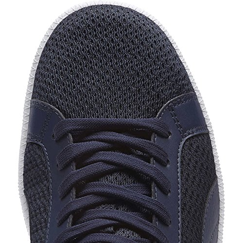 Puma Mens Smash Knit Fashion Sneaker Navy