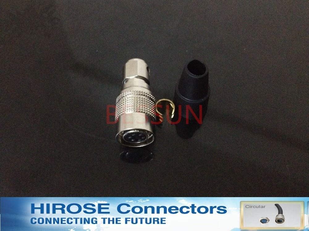 7P-6S,Metal 6 pin Connector Plug,Topcon Special Cable Connector Plugs Computer Cables Hirose Connector HR10A Cable Length: Other