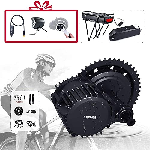 BAFANG BBS02B 48V 500W 750W BBSHD 1000W Motor Electric Bicycle Conversion Kit with LCD Display and Battery Optional Ebike DIY Part and Assessories