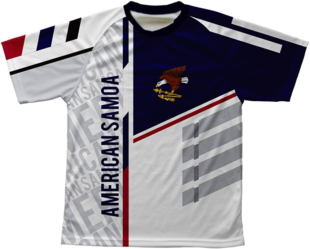 ScudoPro American Samoa Technical T-Shirt for Men and Women