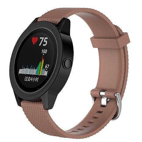 LOKEKE Garmin Vivomove HR - Correa de repuesto para reloj inteligente Garmin Vivoactive 3, Vivomove
