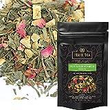 Itrix Green Tea Blend with Matcha – Ceylon Loose Leaf Tea – Vegan & Naturally Harvested | Radiation Free | Increases Energy, Boosts Metabolism, Improves Mental Focus – 2 oz