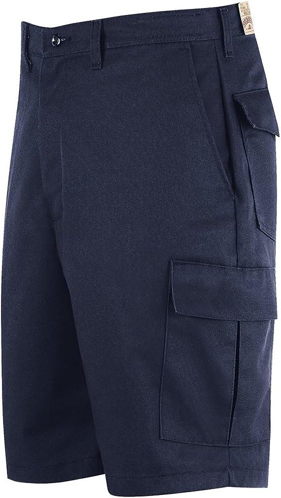 Red Kap Cargo Shorts 32W Black