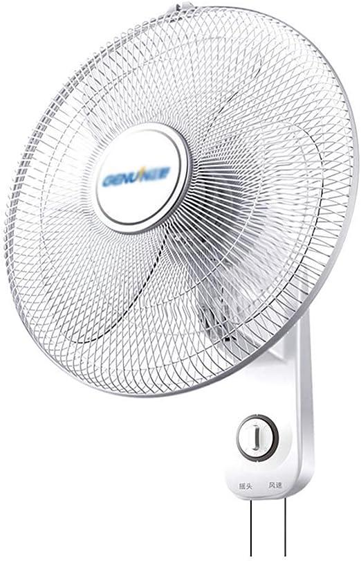 Fan Fan Ventilador de Pared Blanco de 16 Pulgadas, Ventilador de ...