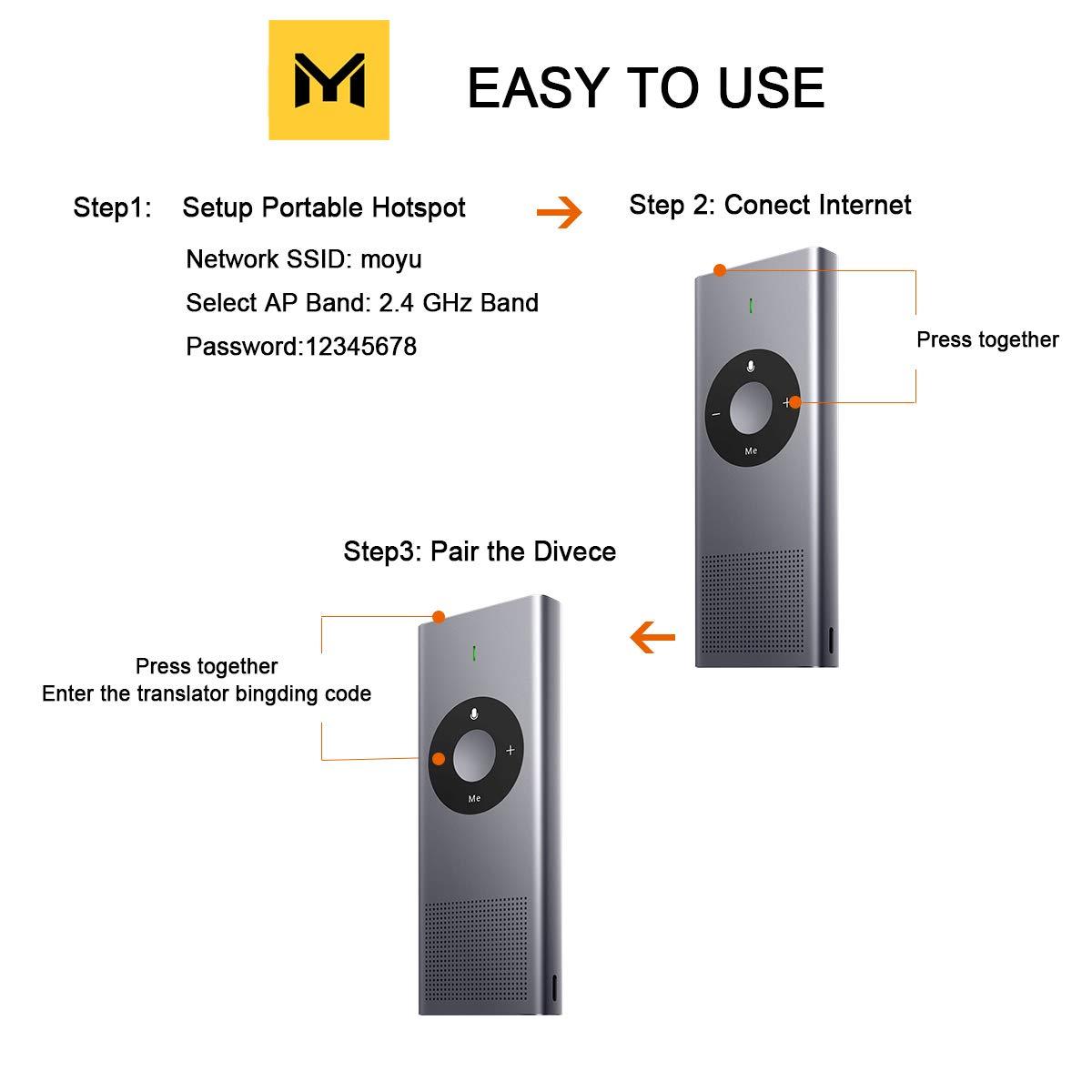 Moyu Xiaomi Mijia AI Smart Language Portable Translator Device