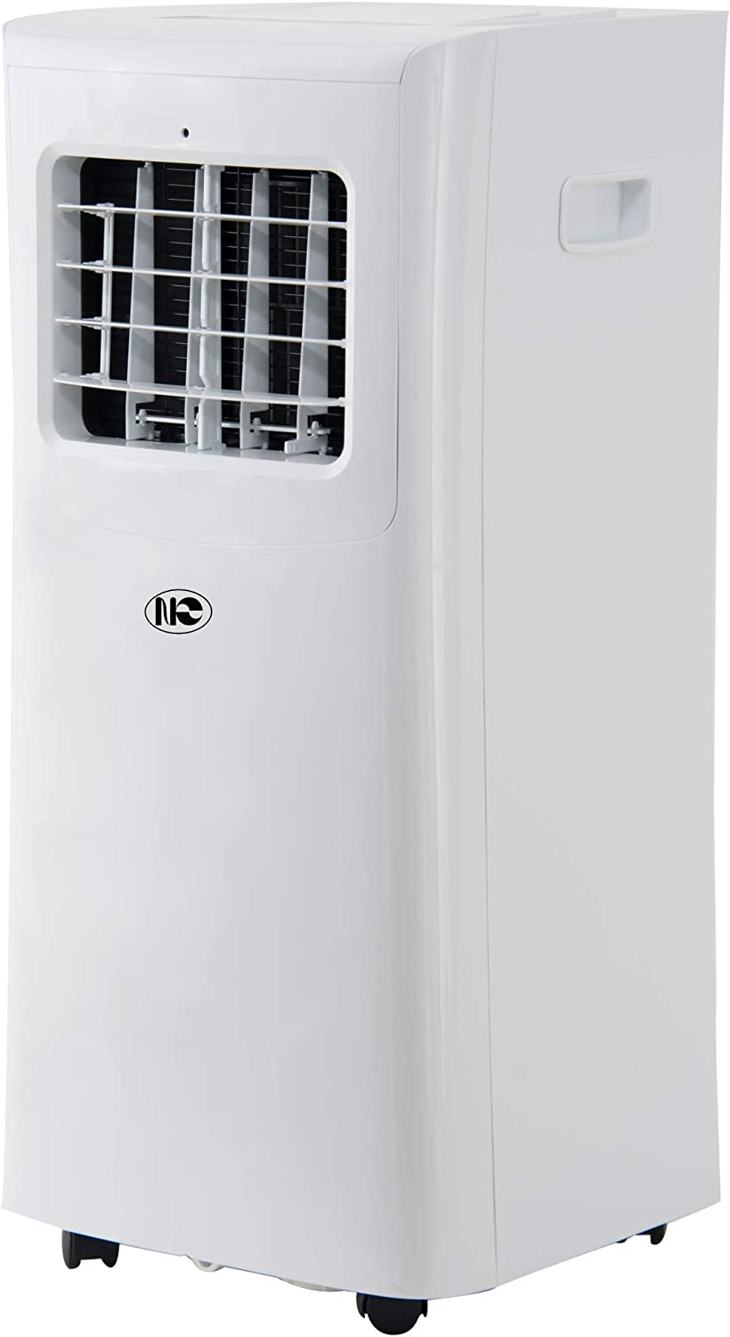 Portable Air Conditioner, 8000 BTU, 200 sq.ft, Standing Room AC Unit with LED Display, Remote Control and 24-Hour ON/OFF Programmable Timer, Low Noise Level, ETL Certified