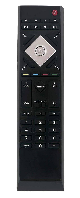 AULCMEET VR15 リモートコントロール交換用 VIZIO TV E550VL E470VLE E421VO E420VO E370VL E470VLE E421VL E551VL E470VL E550VL E470VLE E421VO E370VL E371VL E320VP E320VL E421VL E551VL   B07R14T317