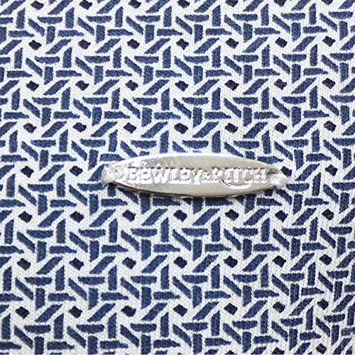 Bewley Ritch Herren Mod Polo-Shirt, Retro, Poloshirt 'Trystan'Wht