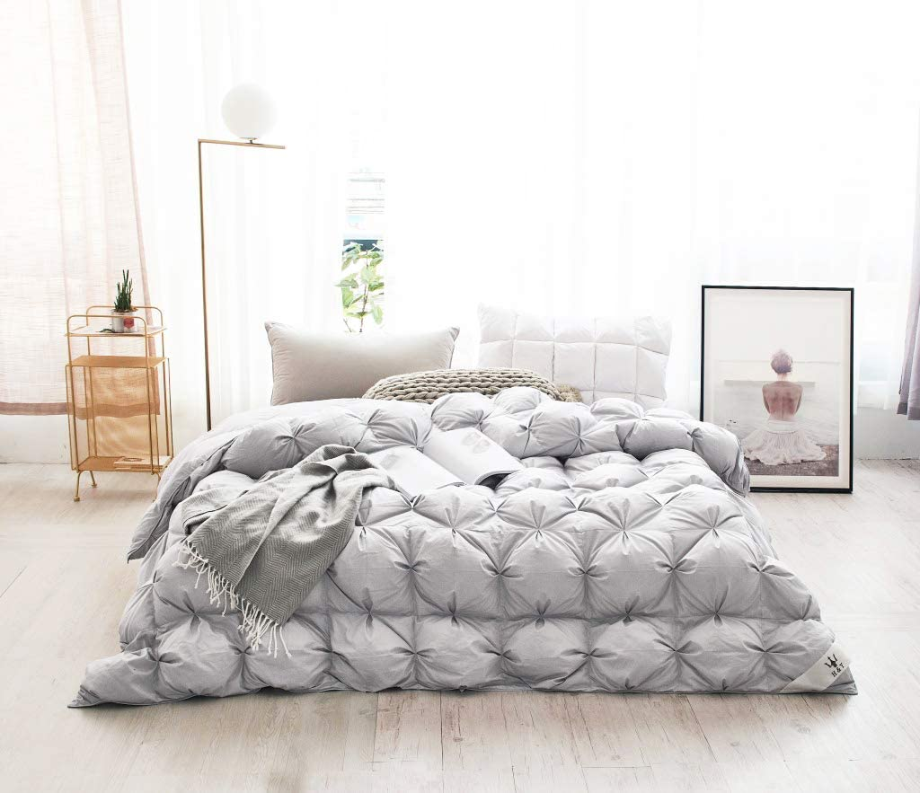 Haru Homie Spring new work Luxurious Ranking TOP19 Heavy Goose Comforter Down Alternative King