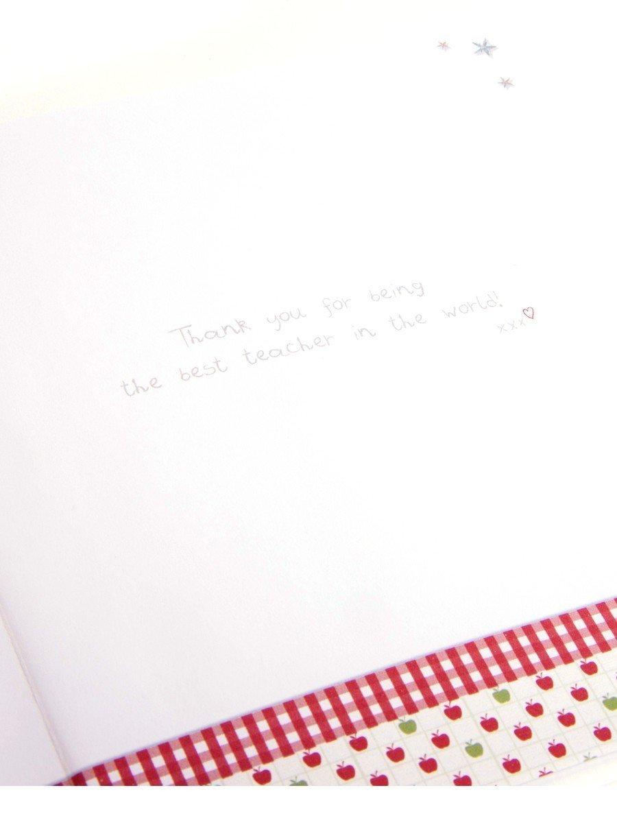 """Amazon.com: Pack de 6 Boofle Pintura """"Best Teacher ..."""