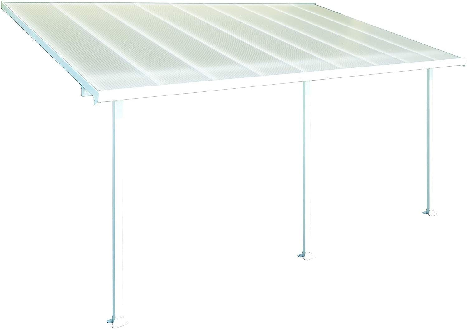 Palram Pergola Patio Cover Feria - Robust Structure for Year-round Use