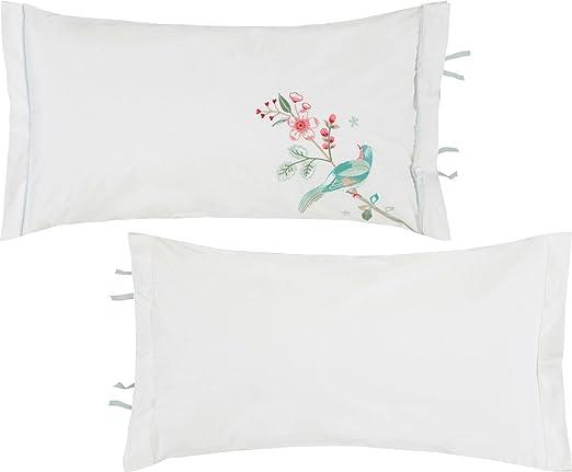 PiP Cojín (relleno, percal, Weiß, 35x60 cm: Pip: Amazon.es ...