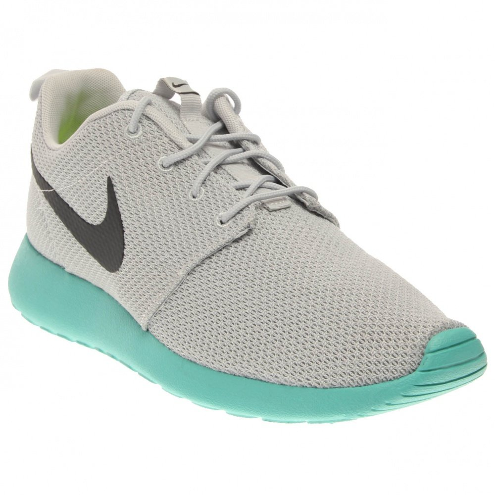 Nike Rosherun DK Imán Imán de Gris/Gris/Brillante MA 511881 – 097 11 D(M) US|Platino