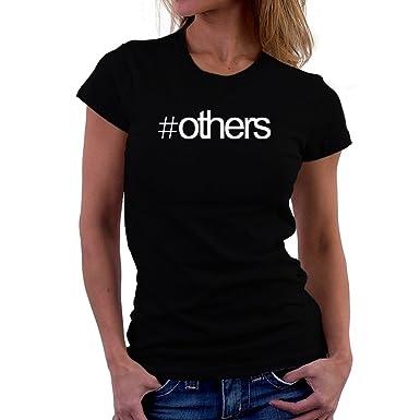 Amazon | Hashtag Others 女性の Tシャツ | オリジナルプリント 通販