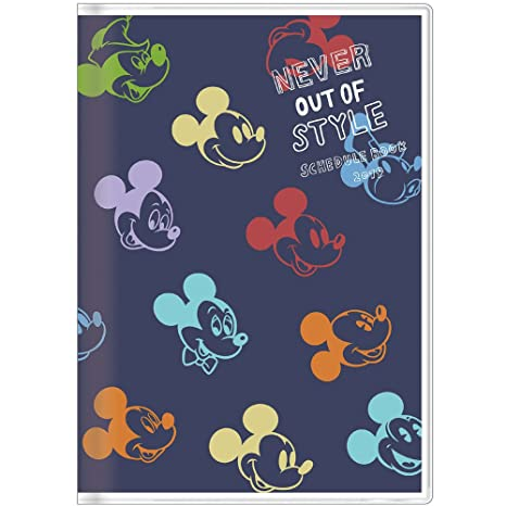 Amazon.com: Star Stationery Disney Mickey Schedule Planner ...