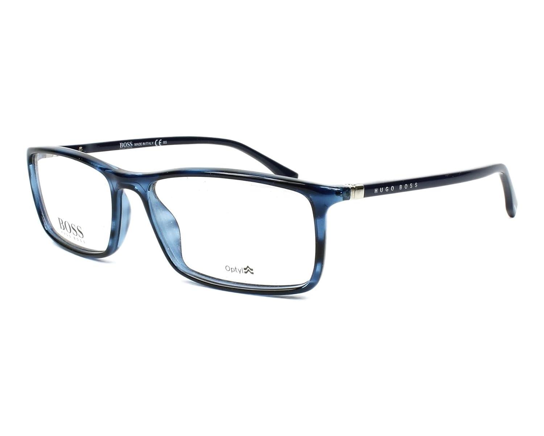 BOSS Hugo 0680 1N7 55 Gafas de Sol, Azul (Bluehorn BLU ...