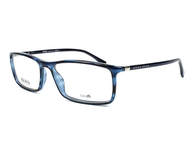 Occhiali da Vista Hugo Boss BOSS 0680 BLUE HAVANA uomo SrANHcPC